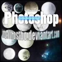 Planet Brush Set for Photoshop by FrostBo
