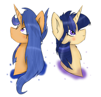 MLP ( Next Gen ) The Star Sisters by GalaxySwirlsYT