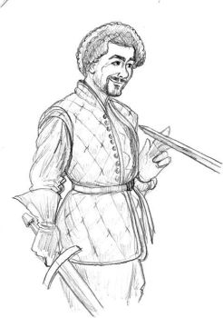 Syrio Forel, first sword of Bravos by Kumanagai