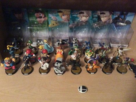 The Amiibo Collection: 11/04/17 by TNO-794