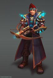 Gnome Artificer Leader by Shinsen