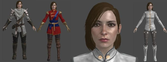 DAI Human Female Inquisitor XPS by Padme4000
