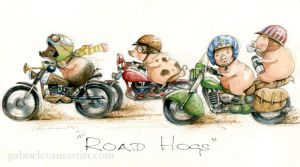 Road Hogs by GabrielEvans