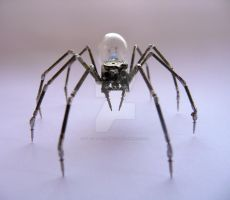 Mechanical Spider No 14 by AMechanicalMind