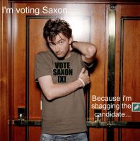 he's voting saxon by MarstersStalker77