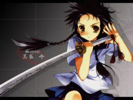 mikoto of mai hime 3 by Sempter