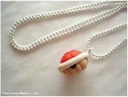 .:Mario shell necklace:. by SaMtRoNiKa