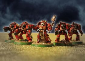 Warhammer40K Space Marines Priest by solterbeck65