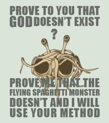 Flying Spaghetti Monster by BeautifullyChaotic