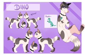 DINO ref-sheet 2k18 (up for offers) by dinoppa