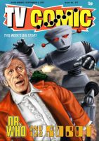 Dr. Who and the Robot by fresian-cat