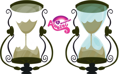 Hourglass Of Time Travel by atnezau