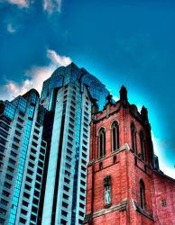 Contrasting Architecture by StewartSteve
