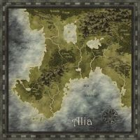Fantasy map by Eowyn-Saule