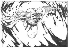 Berserker Wolverine Commission by mikebowden