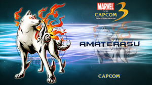 Marvel VS Capcom 3 Amaterasu by CrossDominatriX5