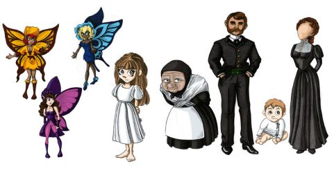 Bluebell Characters by Meajy
