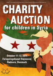 Charity Auction Poster and Info by LittleHybridShila
