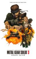 MGS3 Snake Eater Movie Poster by DRPR