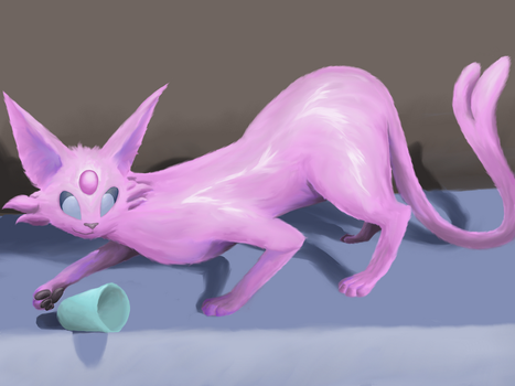 Don't Messpeon with this Espeon by Freee-way