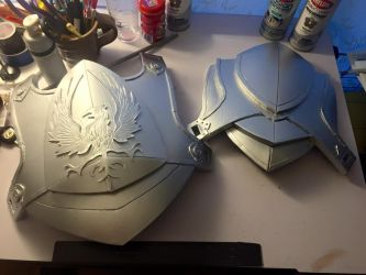 Blackwall armor Silver paint by Mistkeeper
