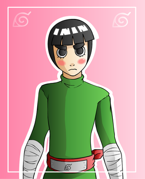 Rock Lee by SonicRocksMySocks