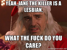 Even Bad Santa Agrees... by FearOfTheBlackWolf