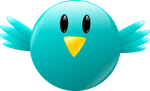 Twitter icon by aleandros
