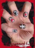 Playing Card Nails by Ninails