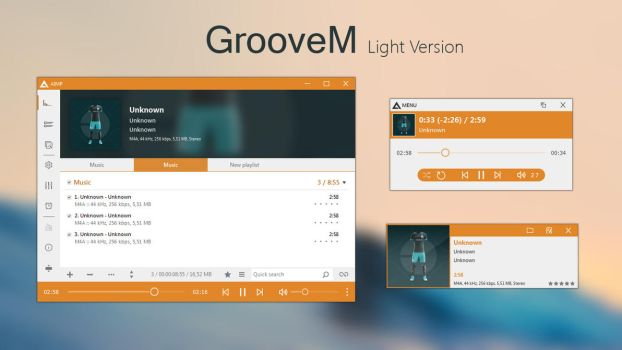 GrooveM (Light) by amdpastrana