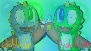 Bubblun and Bobblun by cjc728