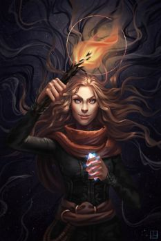 Ace Of Wands by Lulolana
