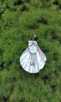 Holiday Ornament - Dolphin's Bubble Time by 2ndWindAccessories