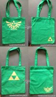 Legend of zelda Tote bags by SongThread