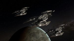 Scorpions Of Eris by OliverInk