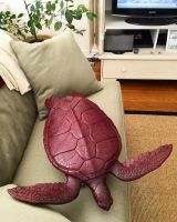 'VOYAGER' GREEN SEA TURTLE COFFEE TABLE by bronze4u