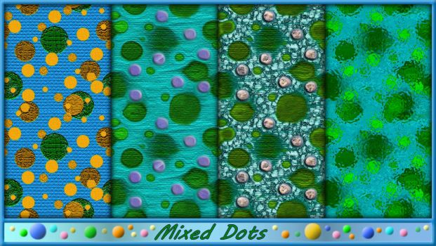 Patterns-Mixed Dots by allison731