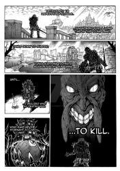 Thorn of hate - Dark Souls comic PAG 3 by thunderalchemist18