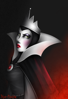 Queen Grimhilde by Mrs-Oniria
