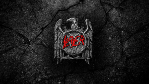 Slayer wallpaper stone style by Yzk-Corp by Yzk-Corp
