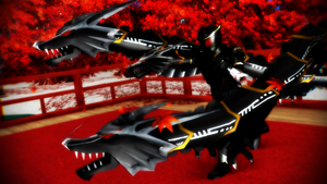 [MMD] DRAGON DEVOUR MY ENEMY! by MIST-TO-GUN