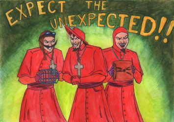 The Spanish Inquisition by Andrzej5056