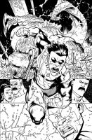 INVINCIBLE TPB 18 inks by RyanOttley