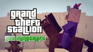 Grand Theft Stallion by TheDuckCow