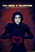 Kylo Ren by Carrieli
