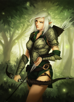 Elf Archer by OOQuant