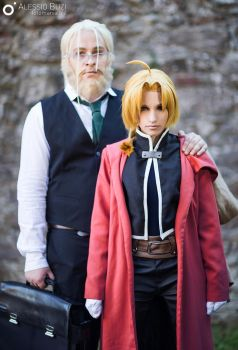 Son and Father by KICKAcosplay