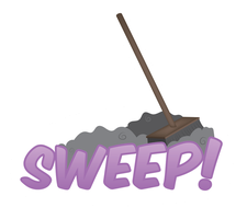 Sweep Sticker by e-49