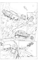 Car chase by DRPR