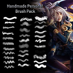 Handmade Personal Brush Pack by Othellophi